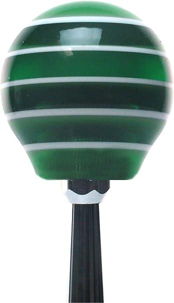 American Shifter 275905 Shift Knob Yellow Redneck Edition Green Stripe with M16 x 1.5 Insert