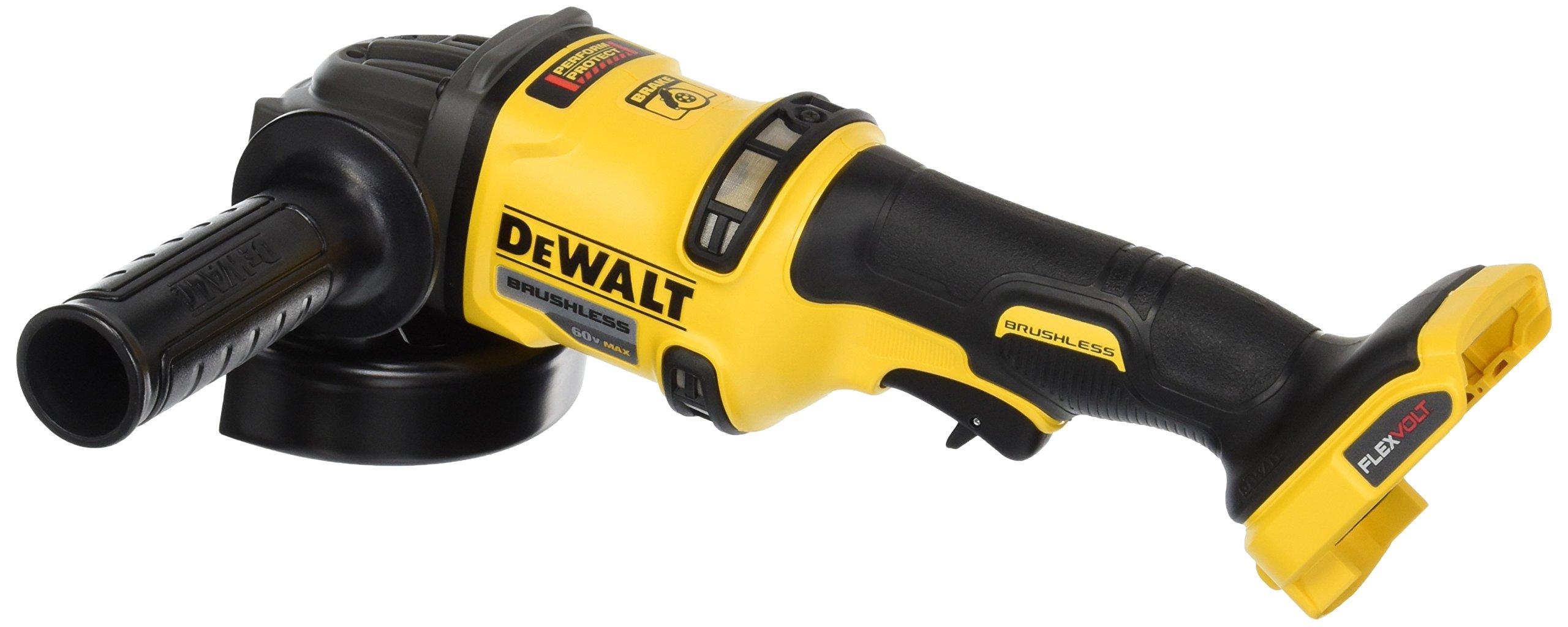 DEWALT DCG414B 60V MAX Bare Tool FLEXVOLT Grinder with Kickback Brake