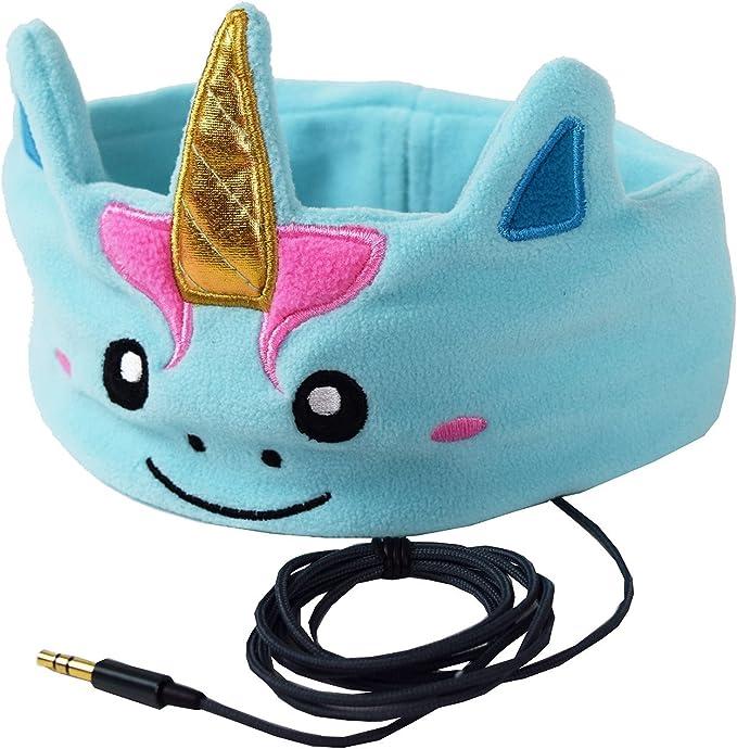 Auriculares Para Niños Modelo Unicornio Místico CozyPhones – Comoda Cinta Con Cascos, Segura Ligera Facil de Poner
