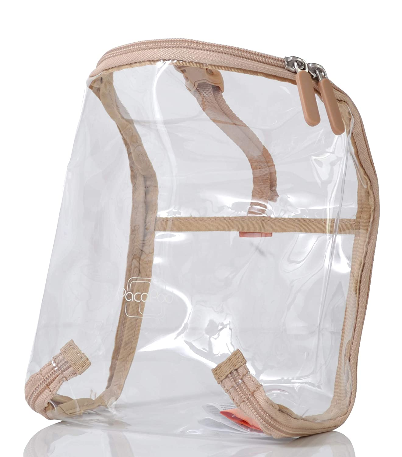 PacaPod Travel Pod - Clear Travel Accessory- Folds Flat for Easy Storage PacaPod Ltd PL:0113