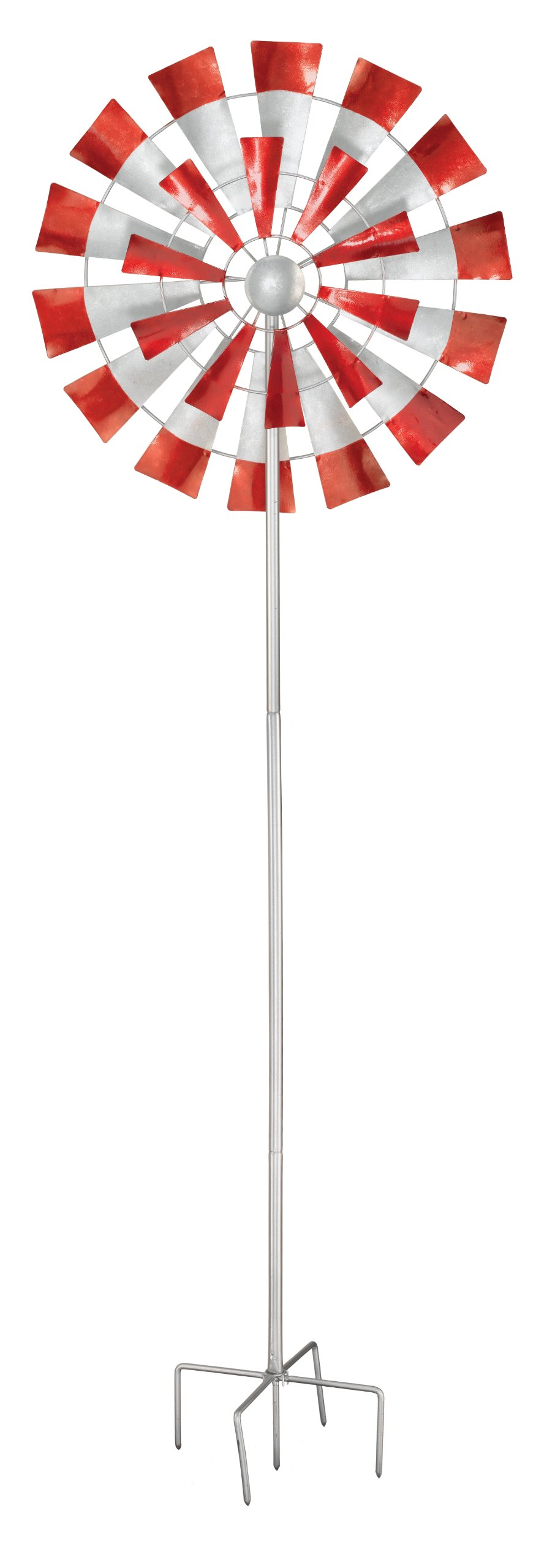 Regal Art & Gift 10293 Kinetic Spinner Stake, Windmill, 26-Inch