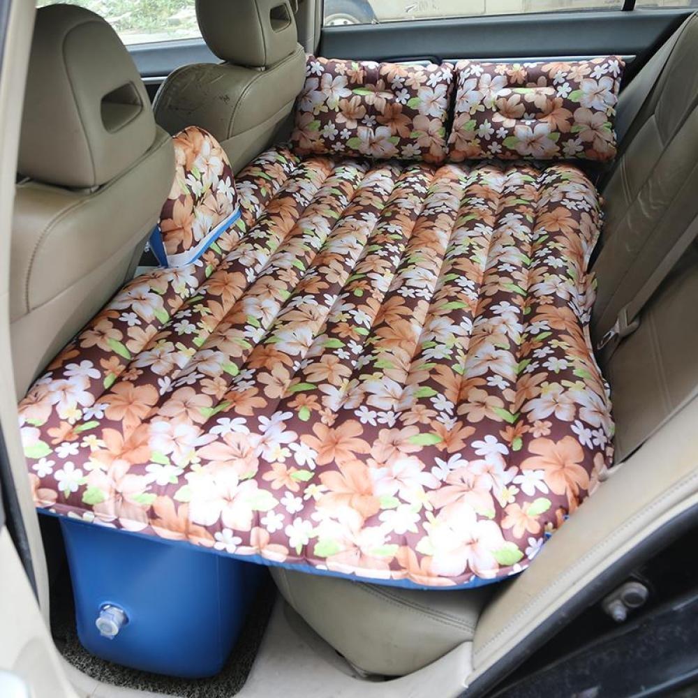 ERHANG Luftmatratzen Auto Bett Outdoor-Reisen Aufblasbare Bett Hinten Sitz Erwachsene Schlafmatte,A