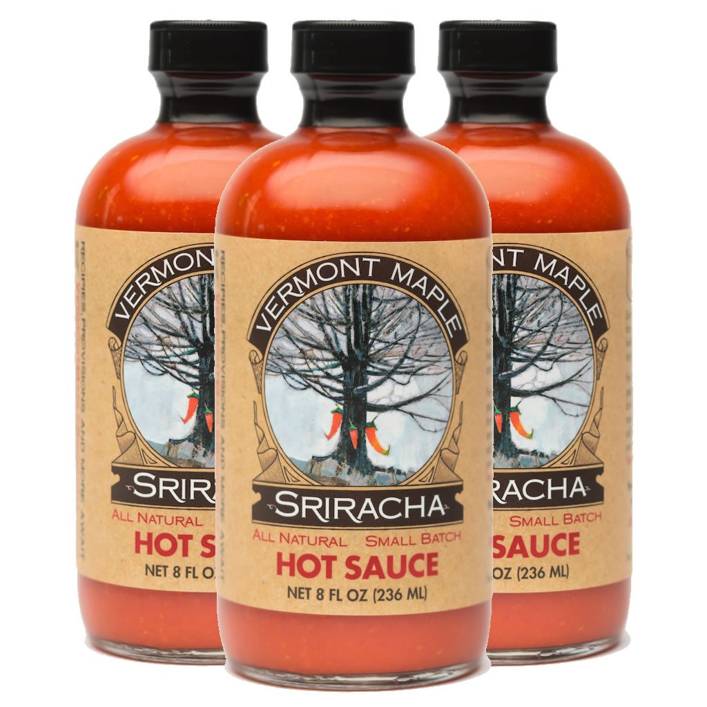 Vermont Maple Sriracha All Natural Hot Sauce 3-pack