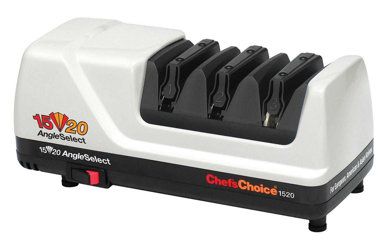 Chef's Choice 1520 AngleSelect Diamond Hone Knife Sharpener-White