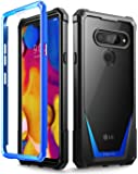 LG V40 ThinQ Case, LG V40 Case, Poetic Guardian [Scratch Resistant Back] [Built-in-Screen Protector] Full-Body Rugged…