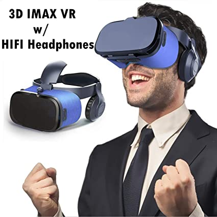 Smartphone Universal 3D Virtual Reality Headset Glasses Goggles for iPhone 6s 6 Plus Galaxy S6 S7