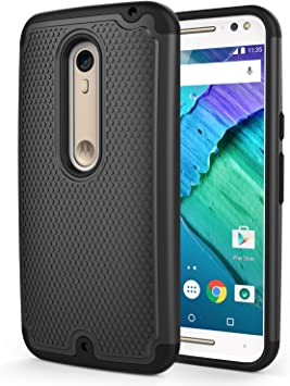 MoKo Moto X Style (Pure Edition) Phone Funda [Anti Drop] Hard ...