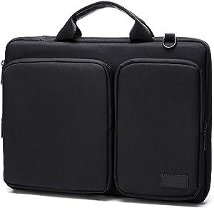 Laptop Shoulder Bag, V.NINE 13.3 Inch Laptop Computer and Tablet Shoulder Bag Business Briefcase Travel Carrying Case Durable Office Bag