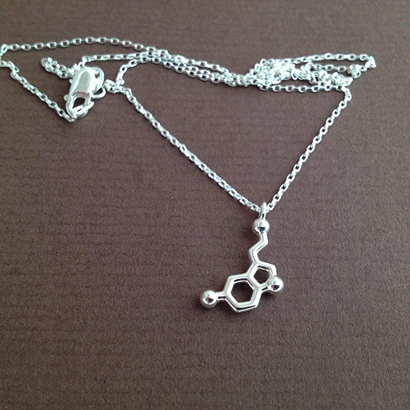 Petite Serotonin Joy Happiness Necklace
