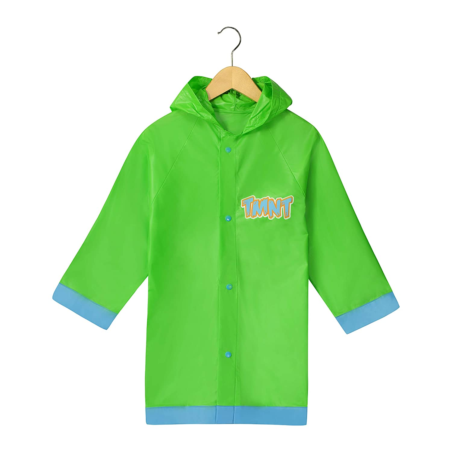 Nickelodeon Little Boys' Teenage Mutant Ninja Turtles TMNT Waterproof Outwear Hooded Rain Slicker - Toddler