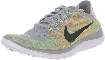 Nike Free 4.0 Flyknit,-Schuhe Running Herren, Grau - Gris (Wolf Grey