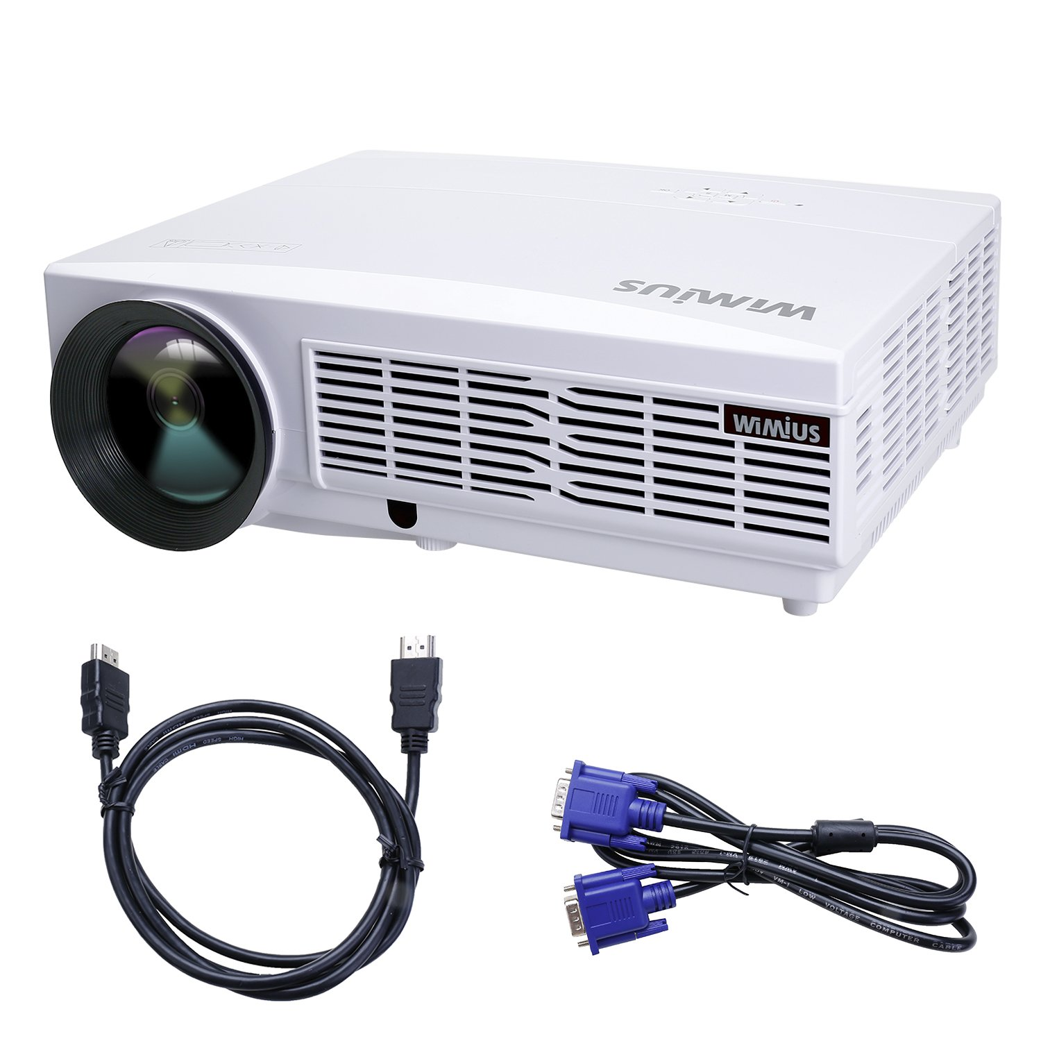 Proyector Full HD Lúmenes Proyectores LED P Proyector Video Projector LCD Home