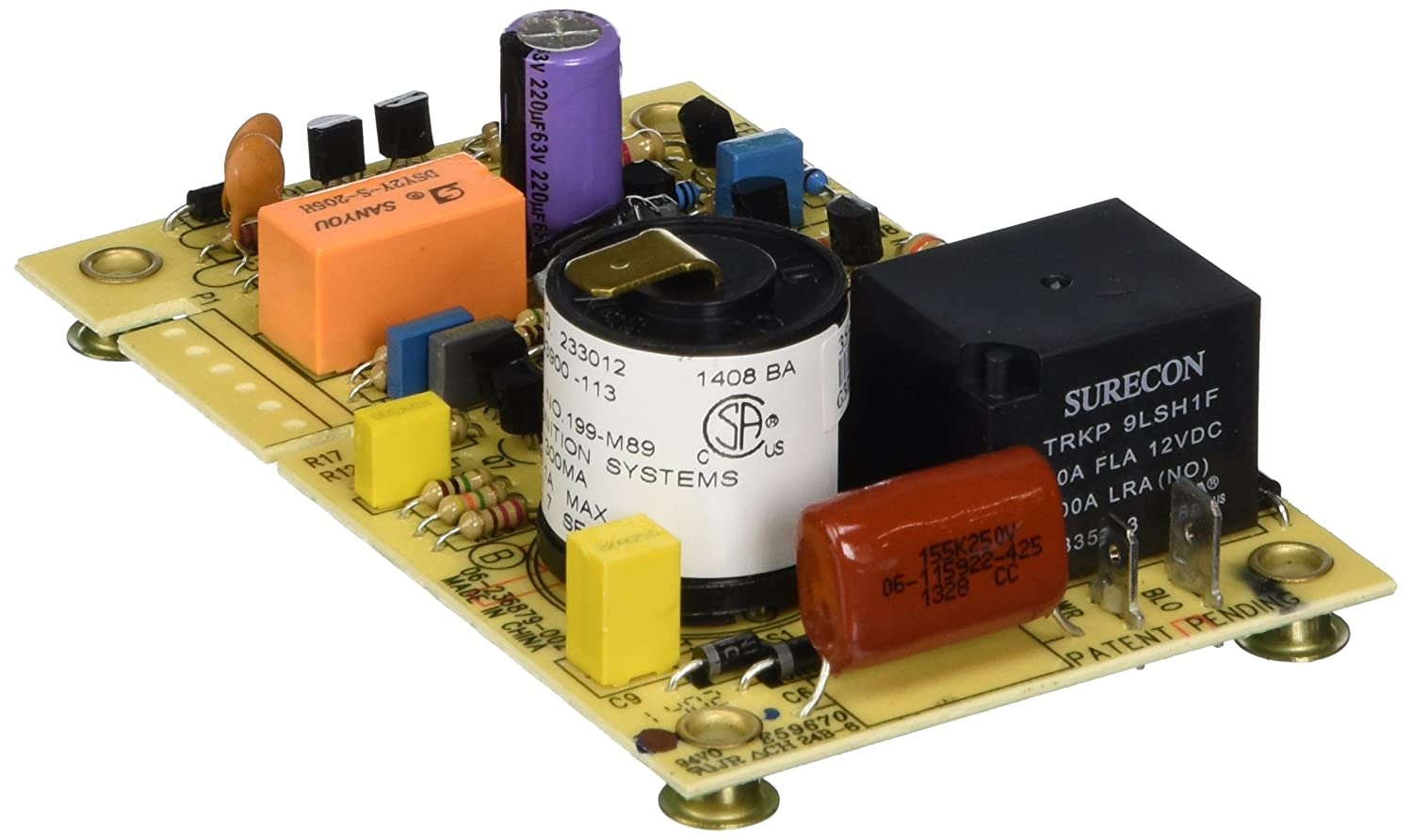 Suburban Sb521099 3g Furnace Fan Control Board Automotive Motorhome Propane Wiring Diagram