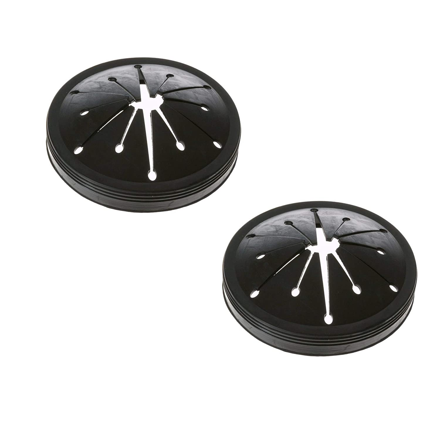 Podoy WC03X10010 Garbage Disposal Splash Guard for GE WC03X10010 Black Sink (Pack of 2) 10UA07070