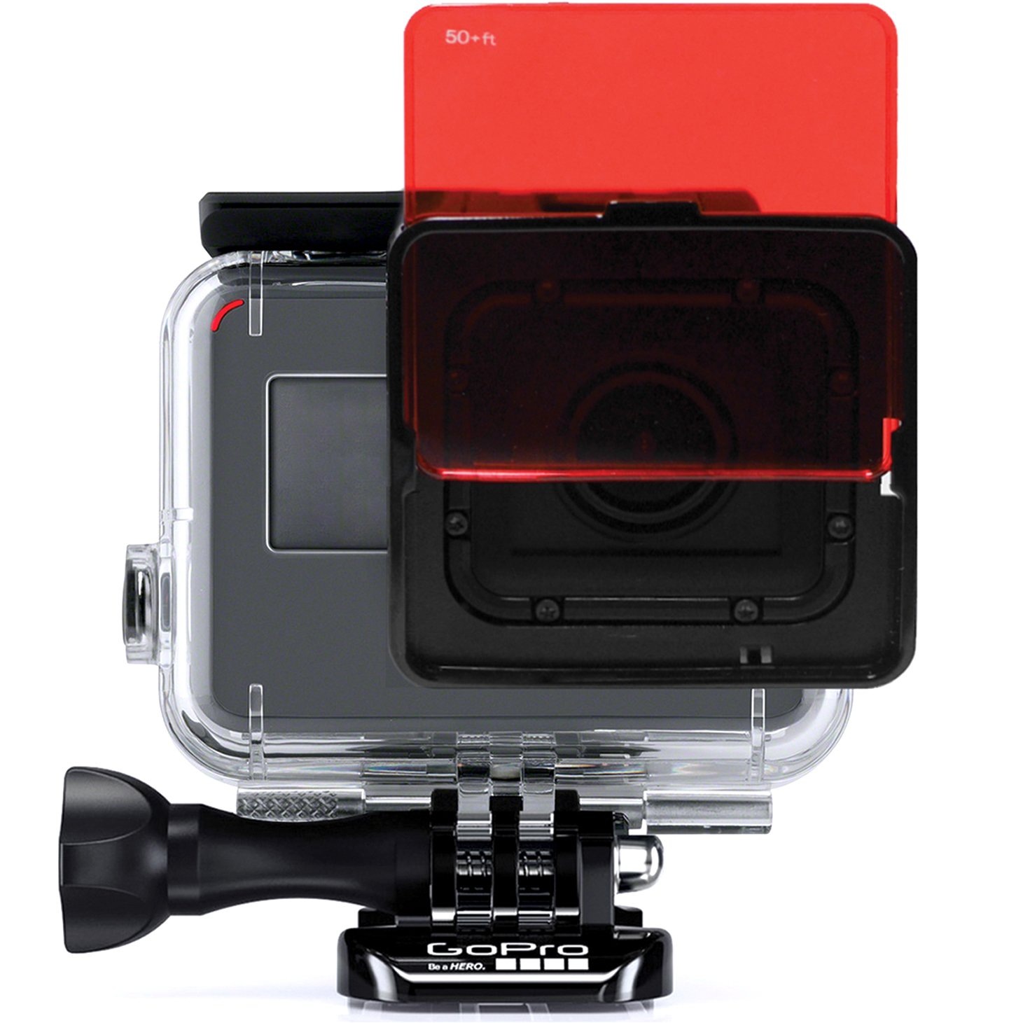 SANDMARC Aqua Filter: Filtro de buceo para GoPro Hero 4 / 3+ - Set de filtros rojo, magenta y amarillo - 5 Pack - Accesorios de buceo y snorkel SM-219