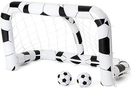Bestway 52058 - Portería Hinchable Fútbol: Amazon.es: Deportes y ...