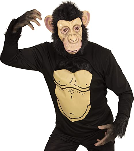 WIDMANN 74566 adultos diseño de mono disfraz ? tamaño mediano ...