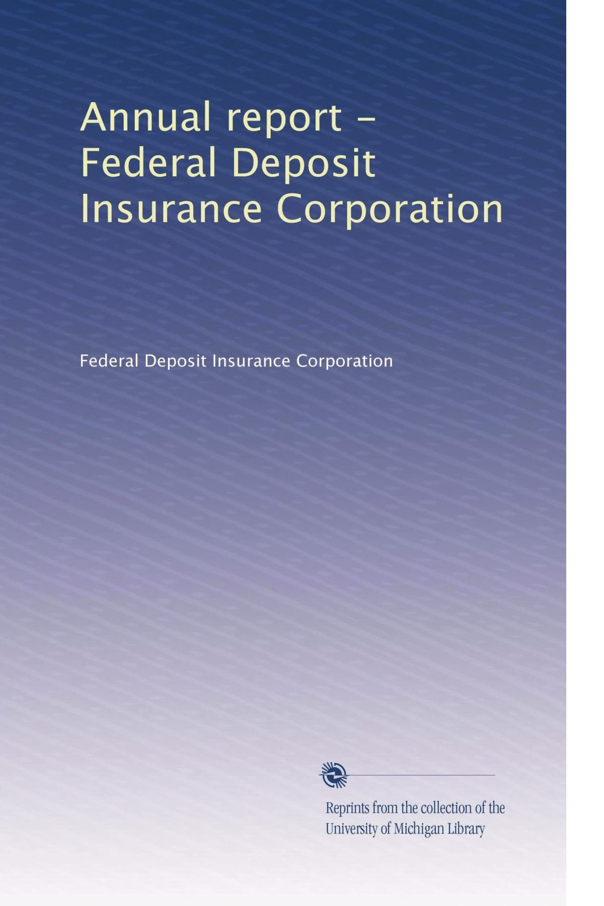 Annual report - Federal Deposit Insurance Corporation (Volume 20) pdf
