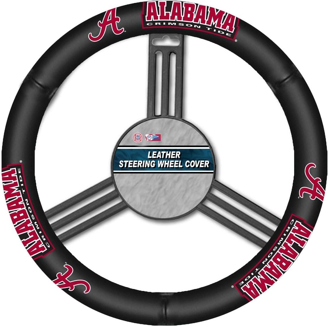 Brand New NCAA Alabama Crimson Tide Universal Fit Car Truck Steering Wheel Cover