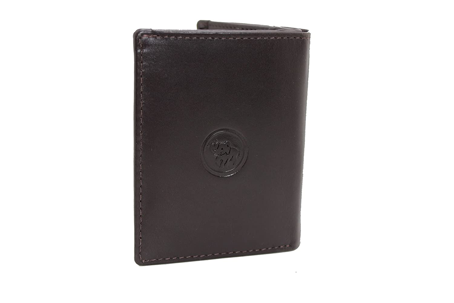 Men Card Holder Wallet Small Credit Card Coin Genuine Leather Bifold 89210