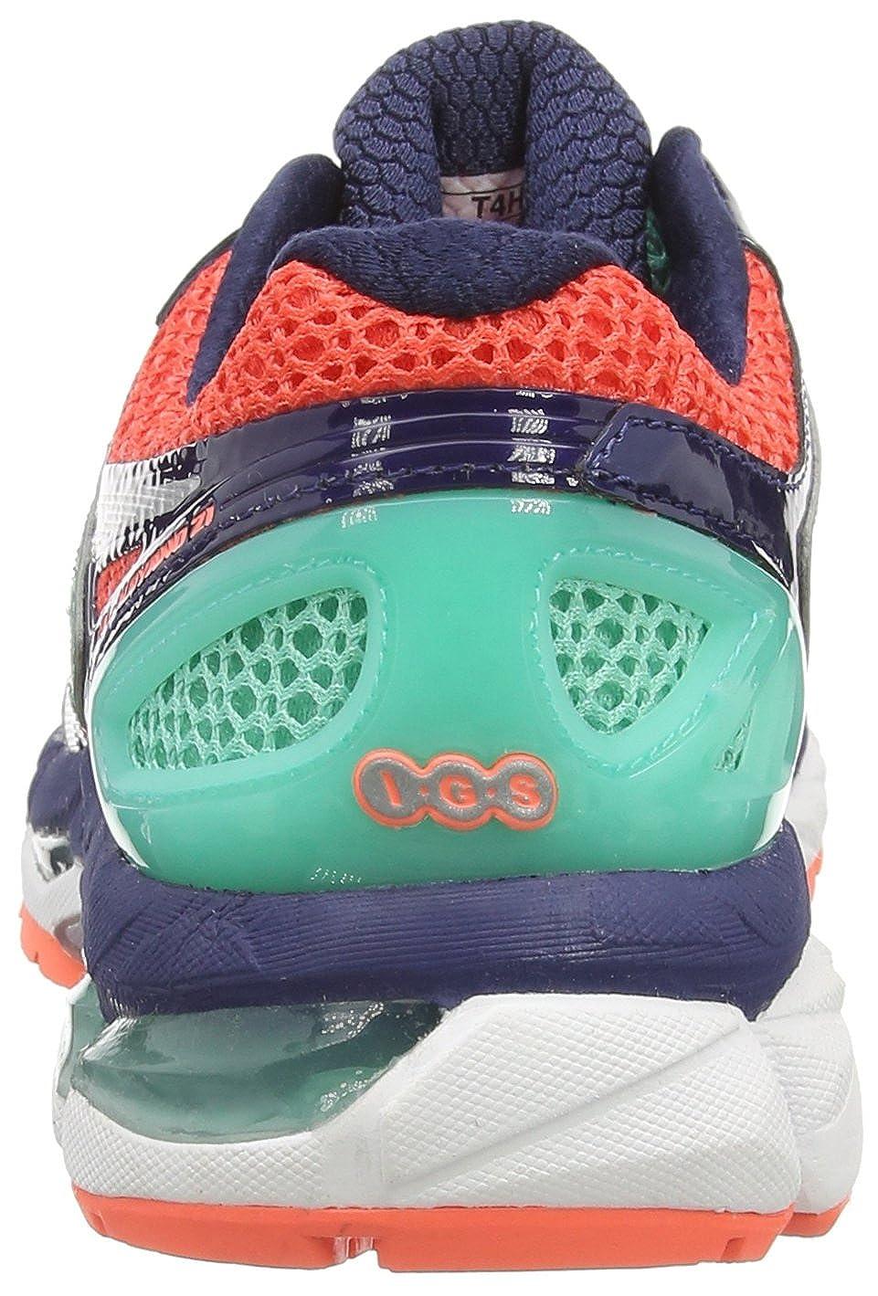 ASICS Gel-Kayano 21 - Zapatillas de Running para Mujer, Color Azul (Aqua Mint/Silver/Indigo Blue 7093), Talla 37: Amazon.es: Zapatos y complementos
