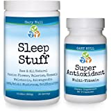 Body Clock Repair Package: SLEEP STUFF, 300 g + SUPER ANTIOXIDANT, 90 caps