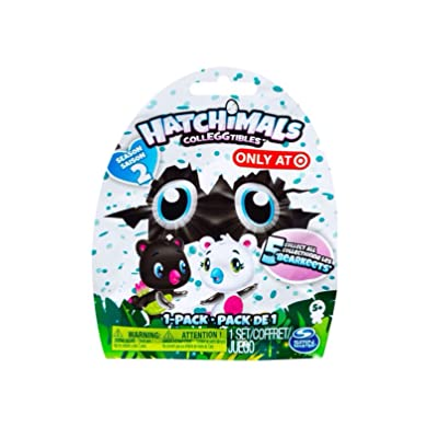 Hatchimals CollEGGtibles Season 2 Exclusive Bearkeet Mystery Pack: Toys & Games
