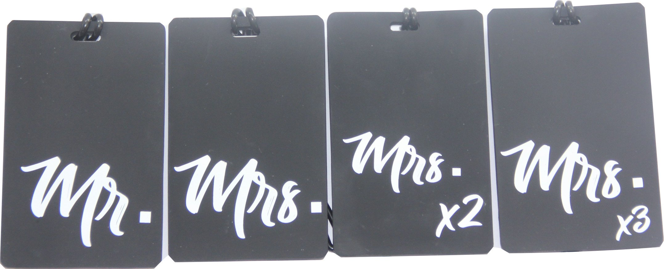 Fifi & Noni Mr. and Mrs. Luggage Tags
