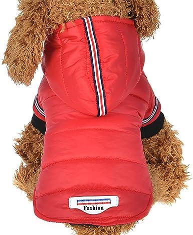 Imagen deRETUROM Ropa para Mascotas Invierno Abrigo Chaqueta Caliente para Mascotas Perro
