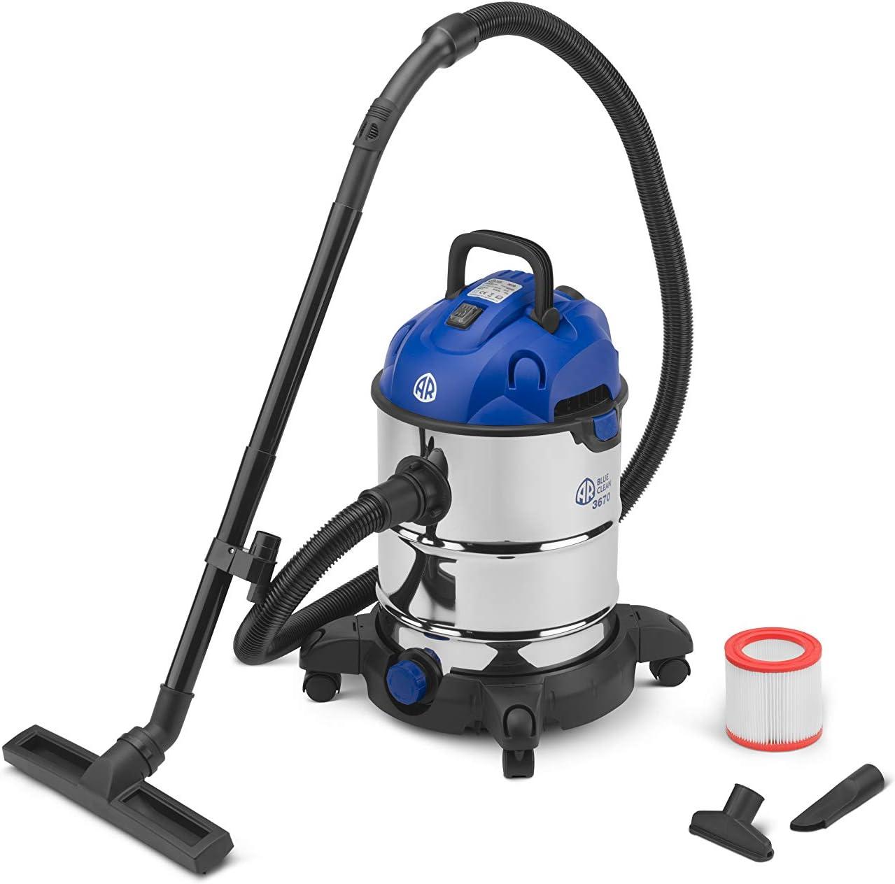 AR Blue Clean 3370 - Aspirador sólido y líquido, 3670: Amazon.es: Bricolaje y herramientas