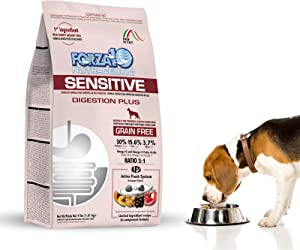 Forza10 Sensitive Digestion Grain Free Dry Dog Food, Complete and Balanced Dog Food for Adult Dogs with Digestive and Stomach Issues