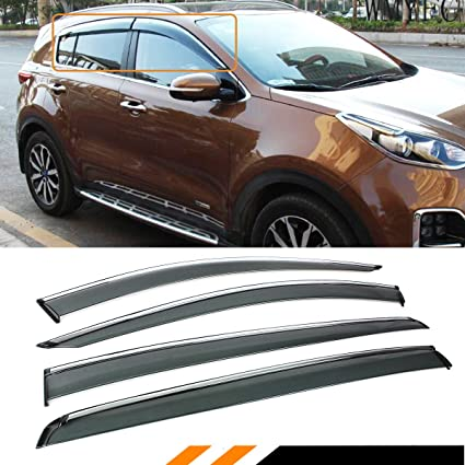 Amazon.com  Cuztom Tuning for 2017-2018 KIA SPORTAGE Premium Clip ON ... 89e6ca76505