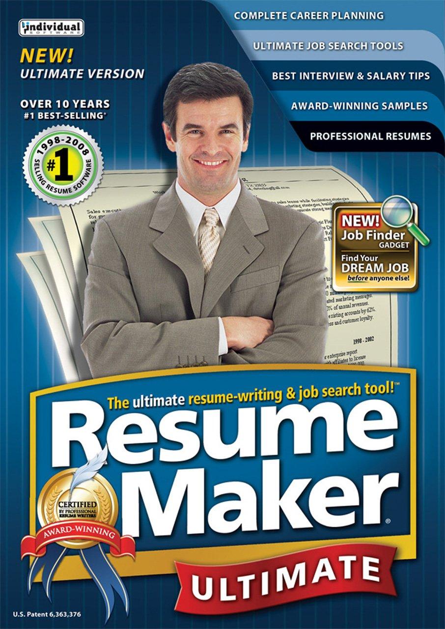 amazoncom resumemaker professional ultimate v4 download software