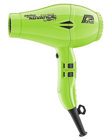 Parlux Advance Light - Secador de pelo ionico, Verde (Reacondicionado)