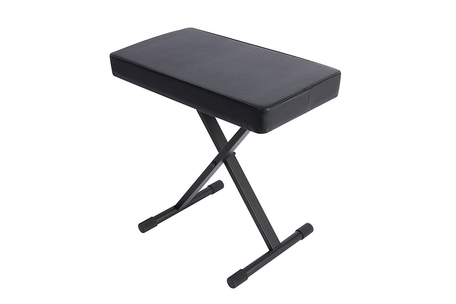 On Stage KT7800 Plus Padded Keyboard Bench On-Stage Stands MUS KT7800PLUS