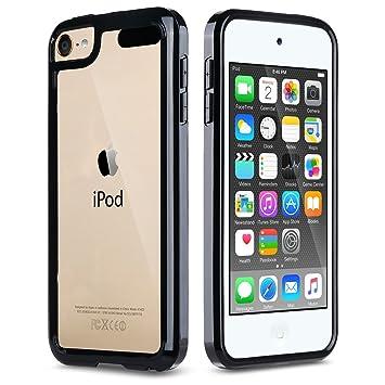 ULAK iPod 5/6 Carcasa, iPod Touch 5/6 Funda Case Clear Slim Cubierta de la Caja Transparente Soft Gel Flexible Thin TPU Piel Resistente a los aranazos ...