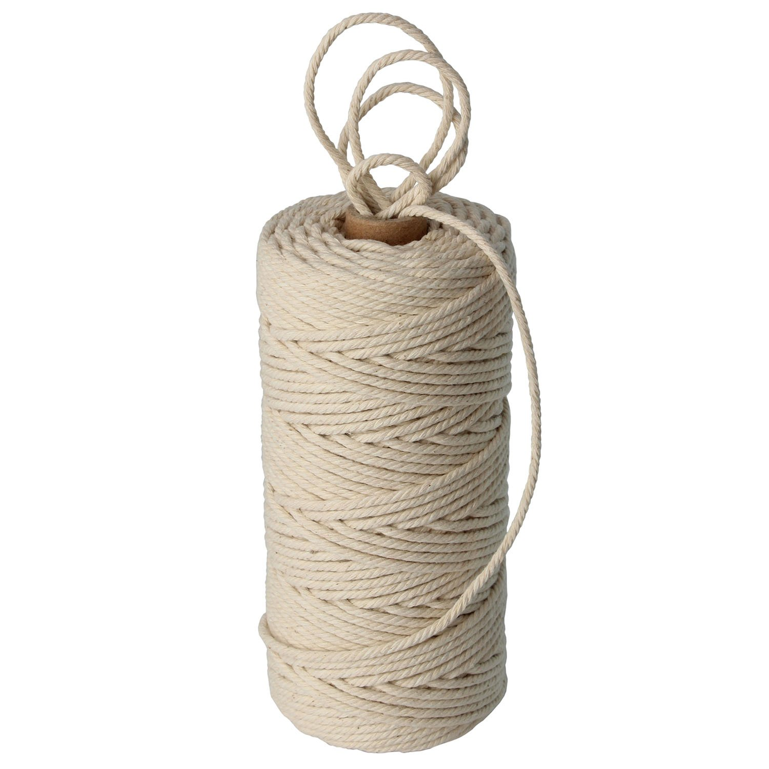 328 feet 3mm Cotton Cord - Best for Plant Hanger Wall Hanging Craft Making - 3mm Twine String for Crafts by Stillness Crafts by XiangGuanQianYing