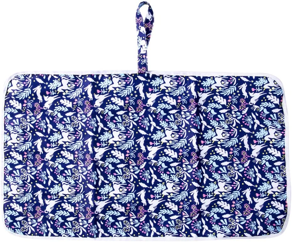 Cambiador de Viaje Bebe Ni/ña Estera Impermeable Bebe 59 x 35 cm Port/átil Cambiador Comoda Reutilizable de Cambio de Algodon para Beb/é Medusa Vawal Cambiador Bebe Portatil Impermeable