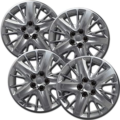 Hubcaps 18 inch Wheel Covers - (Set of 4) Hub Caps for 18in Wheels