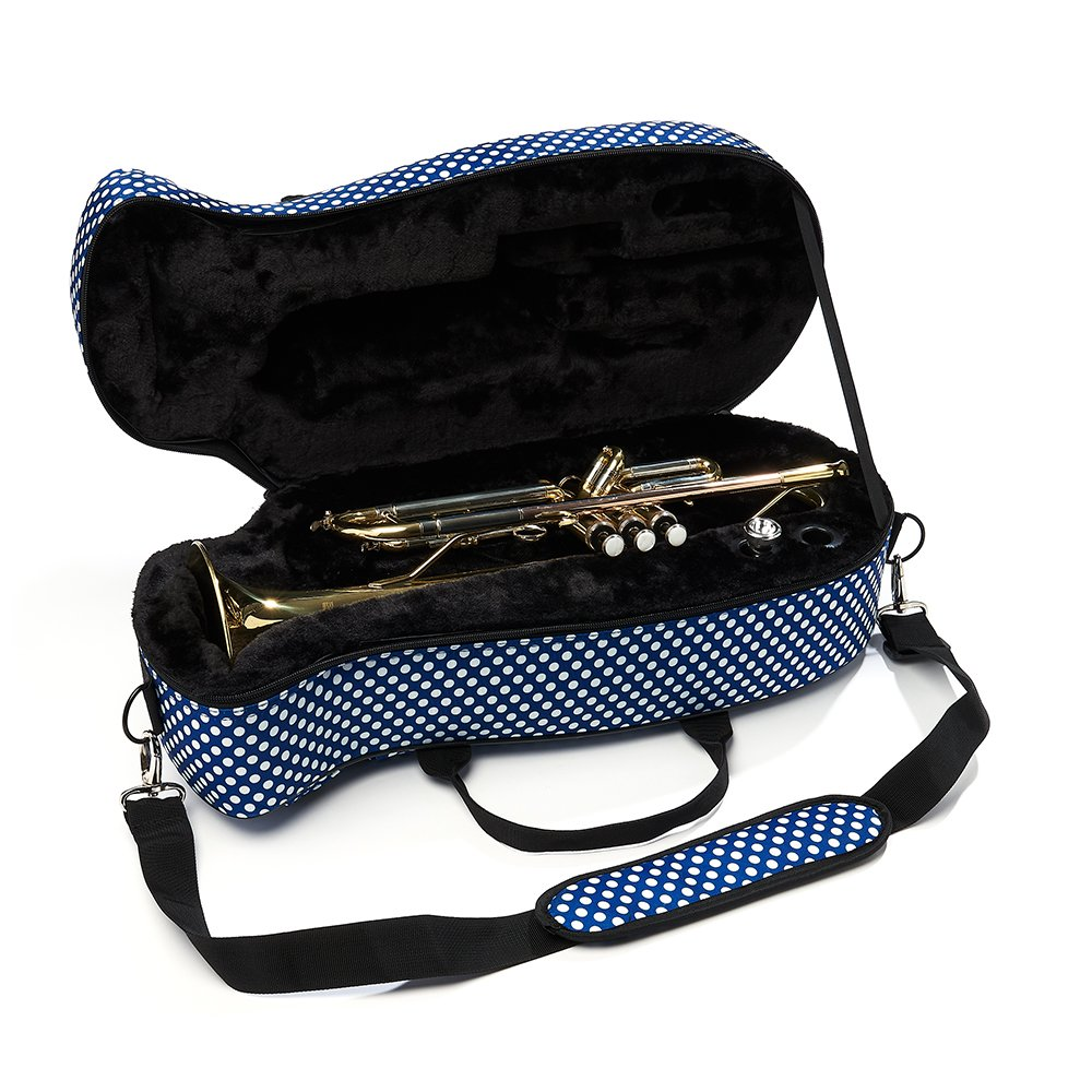 Designed with 3D Scanning Technology Racing Tweed Universal Fit for a Range of Trumpets Beaumont Tru-fit Bb Trumpet Case