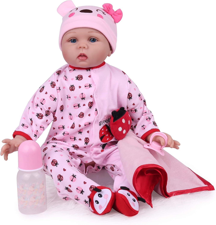 Kaydora Reborn Baby Doll 22 Inch Lifelike Newborn Baby Girl