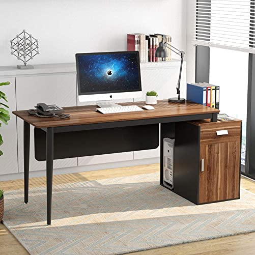 Tribesigns 55 inch Large Computer Desk