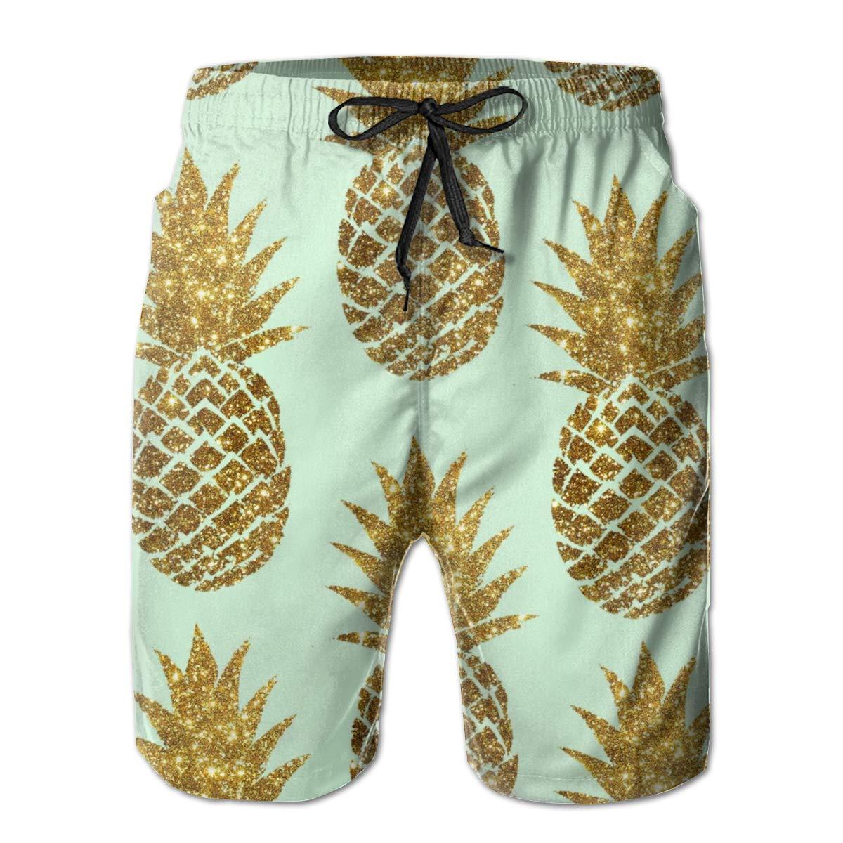 b3e4258400 Amazon.com: Classic-Fit Swim Trunks Big &Tall Half Pants for Boys Mens,  Loose Bathing Suits: Clothing