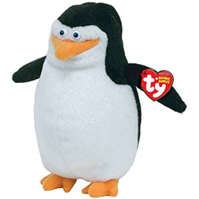 Ty Beanie Baby Skipper Madagascar: Toys & Games
