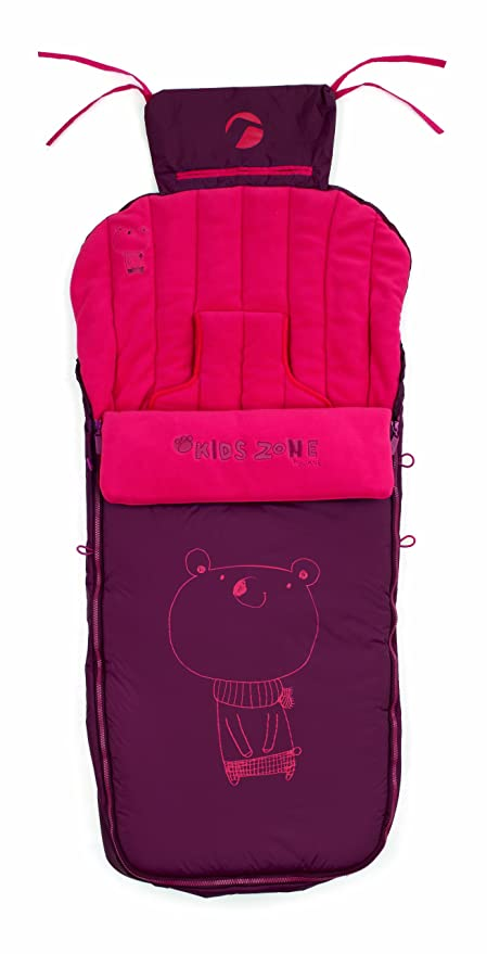 Jané Nest Plus - Saco de abrigo para sillas y carritos, color rojo (080473 R83)
