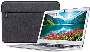 Acer Chromebook 14 CB3-431-12K1 Intel x5 E8000 Quad Core 4GB RAM 32GB 14-inch HD LED Laptop Bundle (Renewed)