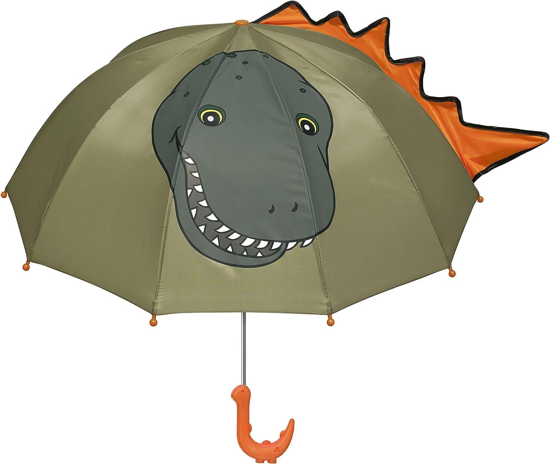 Childs Dinosaur Blue Umbrella Kids Boys or Girls Gift