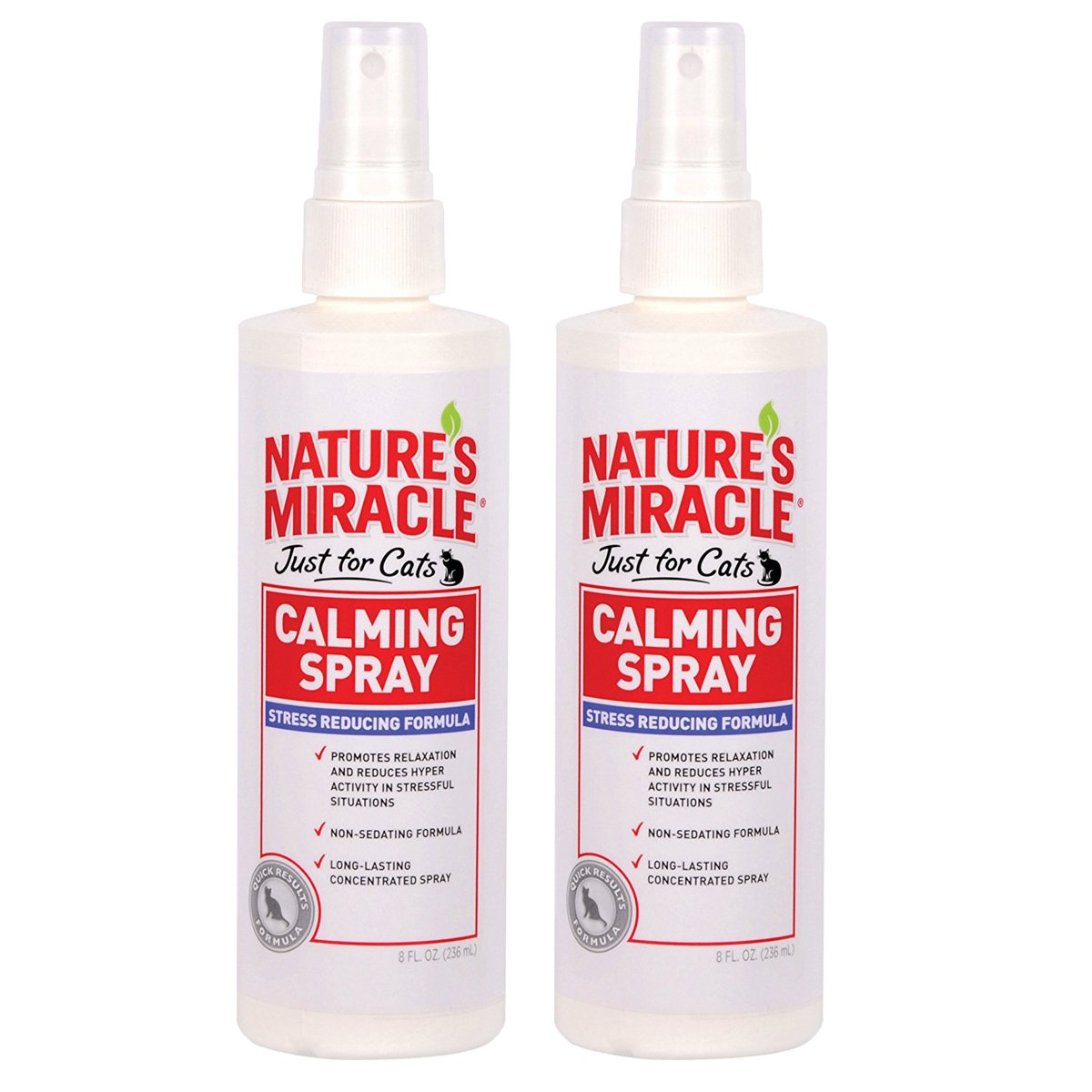 Nature's Miracle Just for Cats Calming Spray Stress Reducing Formula, 16-ounce (P-5780)