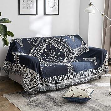 Amazon.com: BERTERI - Manta para sofá nórdica ...
