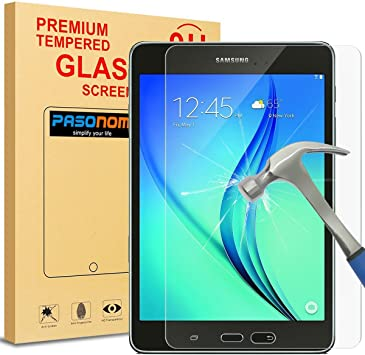 Genuine Tempered Glass Screen Protector 9H For Galaxy Tab A 8.0/'/' SMT350